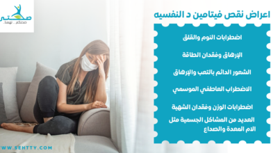اعراض نقص فيتامين د النفسيه
