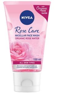 غسول نيفيا للوجة الوردي بماء الورد العضوي
